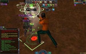 A screencap from the Matrix Online